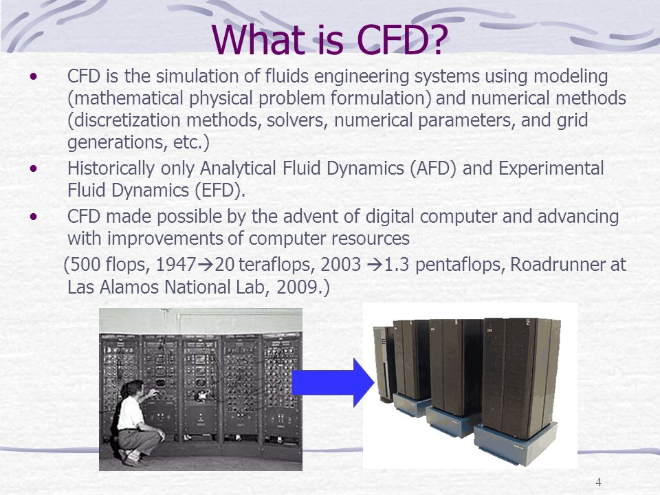 4 What is CFD.