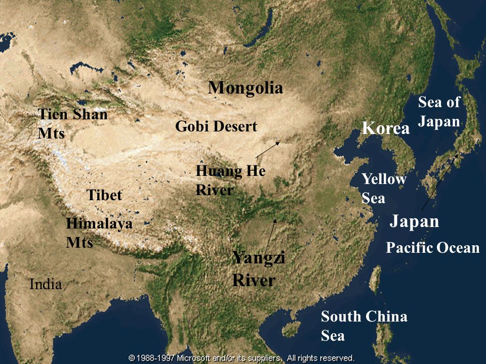 River valley civilizations ppt video online download gobi desert korea huang he river yellow sea tibet japan himalaya mts pacific ocean yangzi river india south china sea gumiabroncs Images