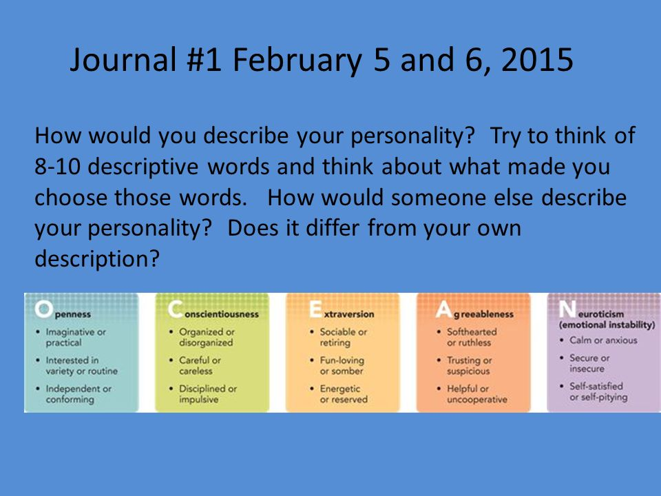 words to describe your personality - Kubre.euforic.co