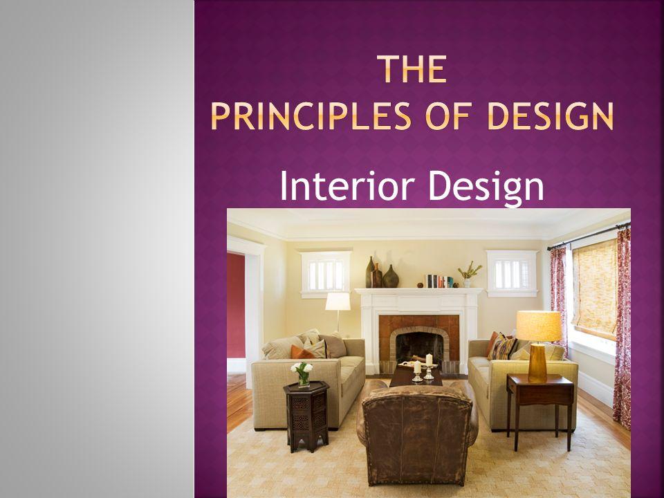 Interior Design Balance Rhythm ProportionScale