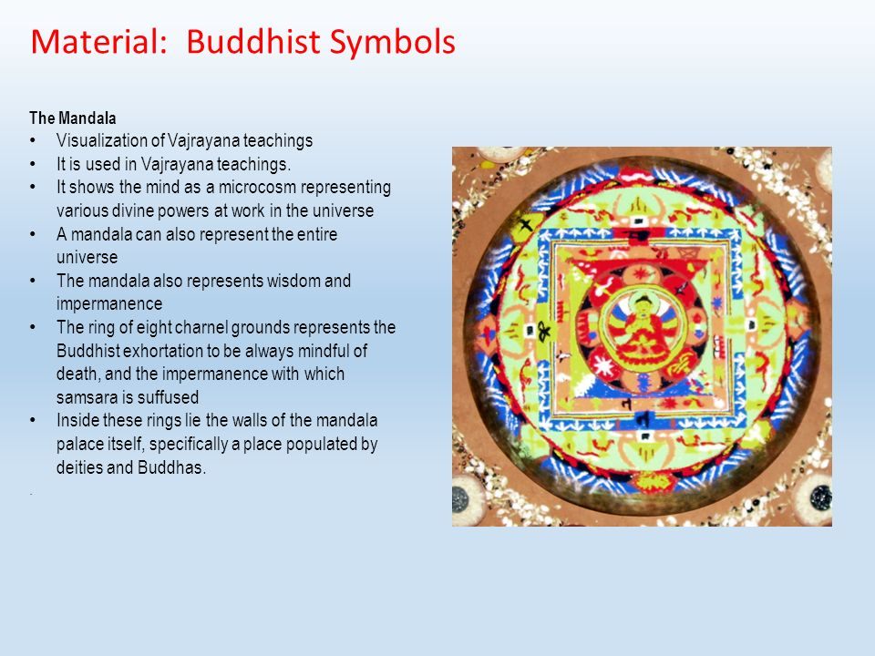 Material Buddhist Symbols Buddha Footprint Representations Of The