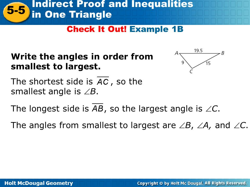 Geometry Worksheet 6 3 Indirect Proof Answers - Worksheets