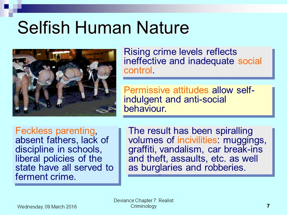 criminal behaviour all the behaviours are Criminal personality and criminal behaviour is inherited  social learning theory= we learn behaviours by observing and intimidating others.
