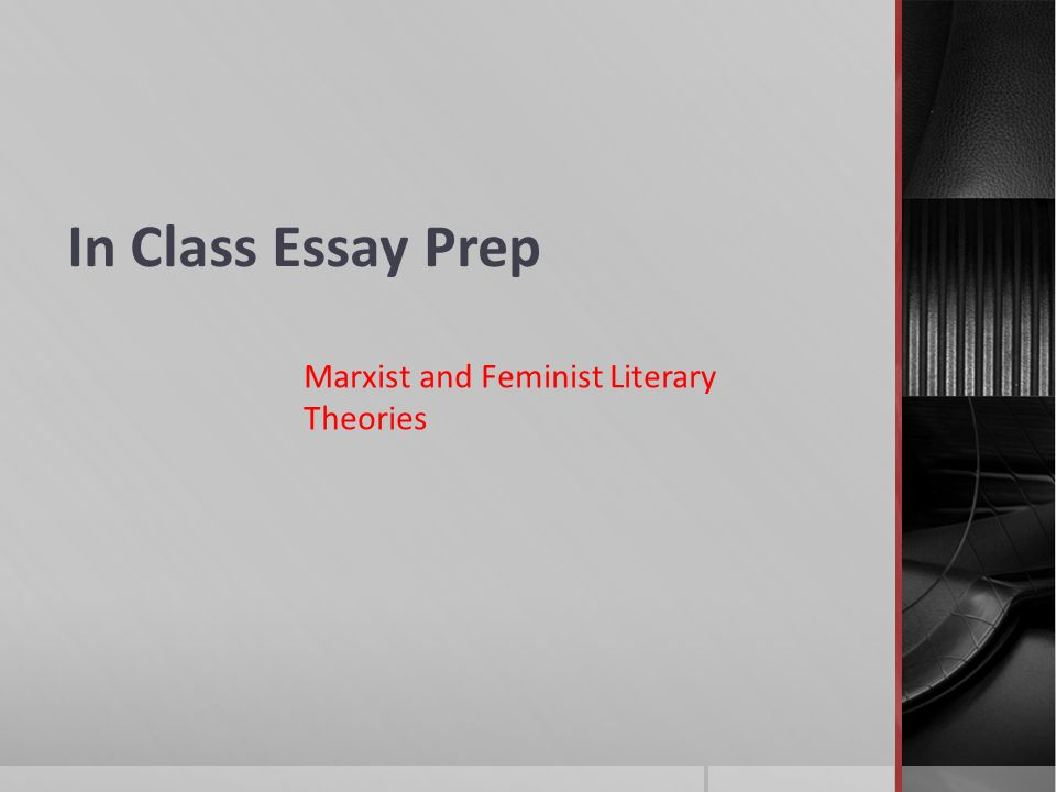 in class essay 3 The in-class essay, originally announced for class next tuesday (11/22), will actually be a week later, on tuesday (11/29) to prepare for the essay, review the two passages for the final exam again (why literature.