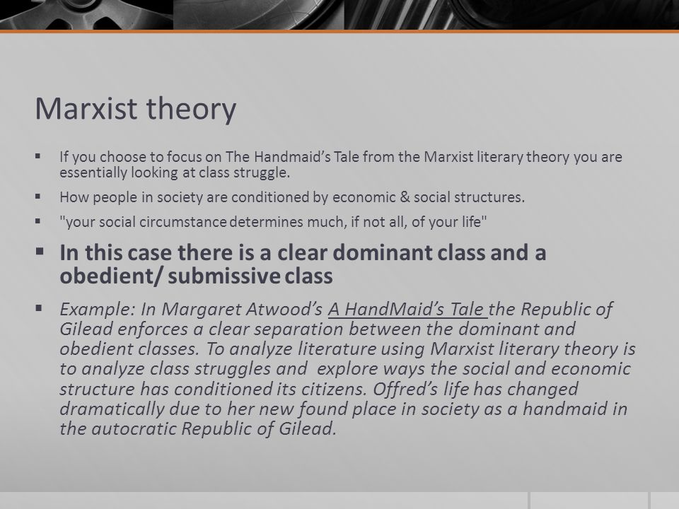 marxist essay Music and movies essays: marxism and the matrix.