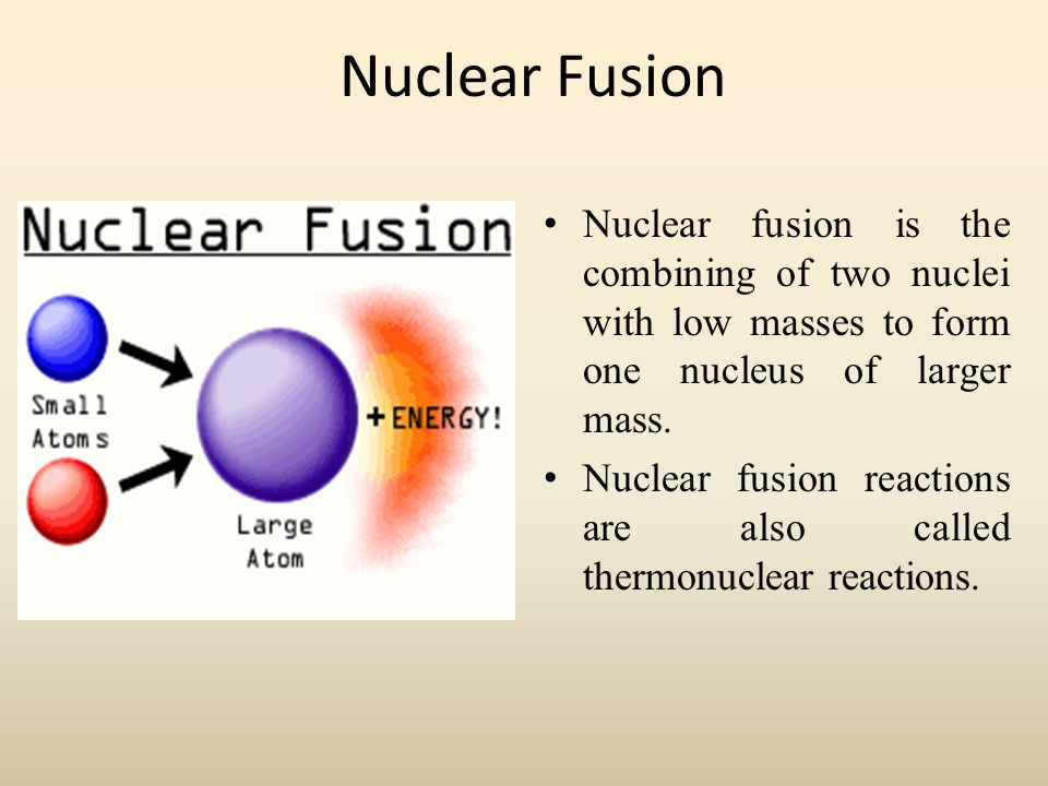 an introduction to the analysis of nuclear fusion Title length color rating : fusion: harnessing the power of the sun - history it has been a well-accepted fact that the sun is a source of great power since the early part of this century in 1929, scientists first theorized that the energy production in stars was created by fusion: nuclear reactions involving light elements reacting to form heavier elements.