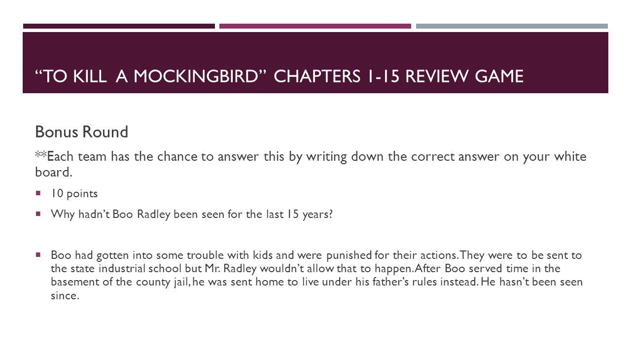 to kill a mockingbird chapter 9 15