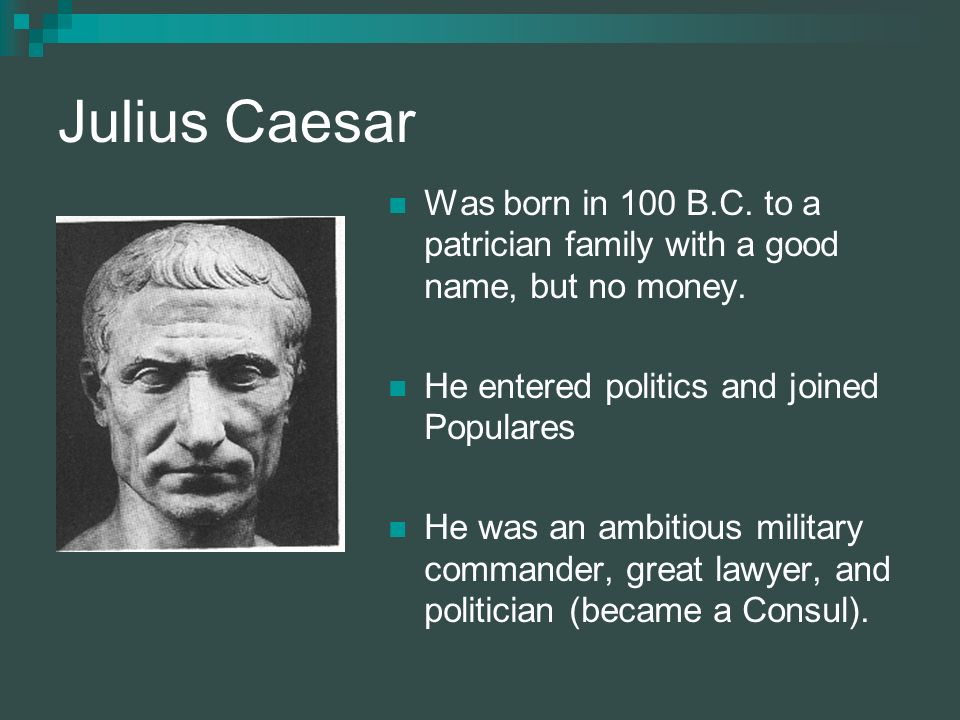 The collapse of the Roman Republic?