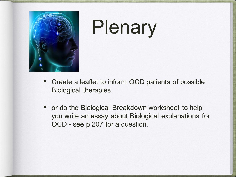 biological explanations of schizophrenia essay plan