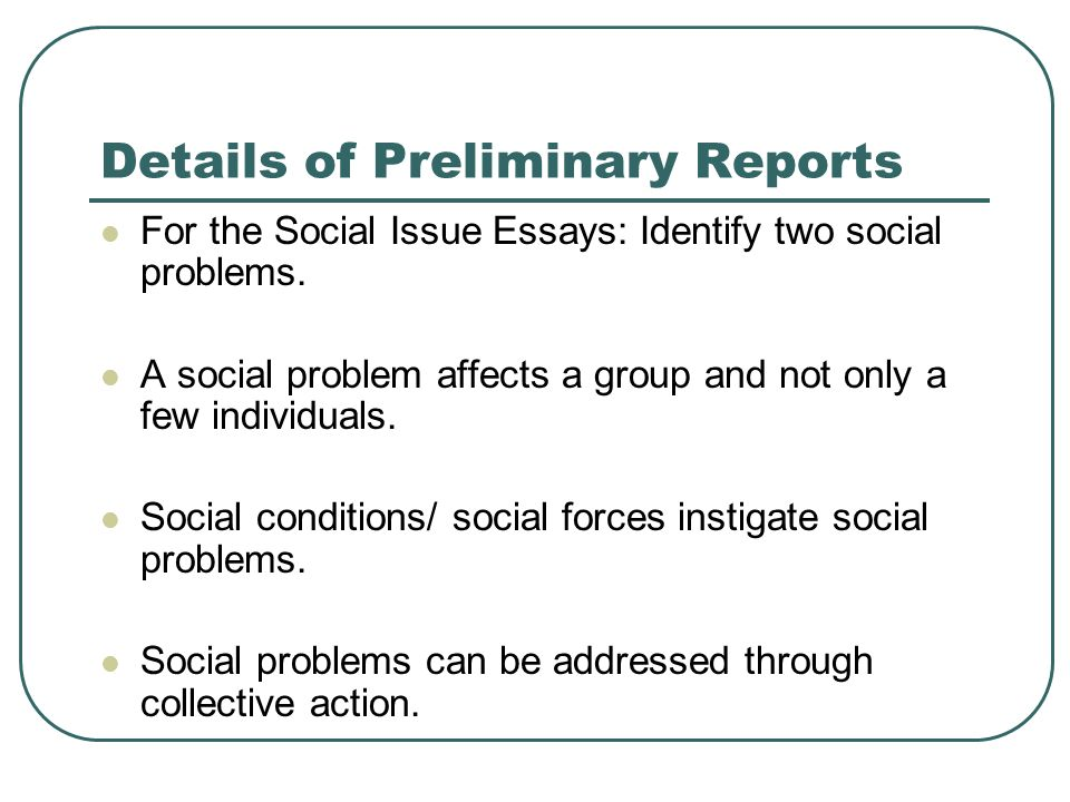 Social Problem Among Teenagers Essay