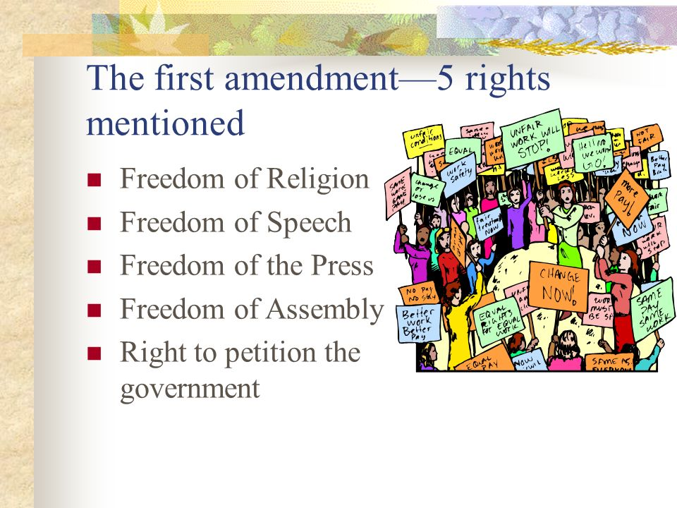 the first amendment to the u s Congress' authority to set ratification deadline was affirmed by the united states supreme court in coleman v miller, 307 us 433 (1939) the thirty-three amendments to the united states constitution—both ratified and.
