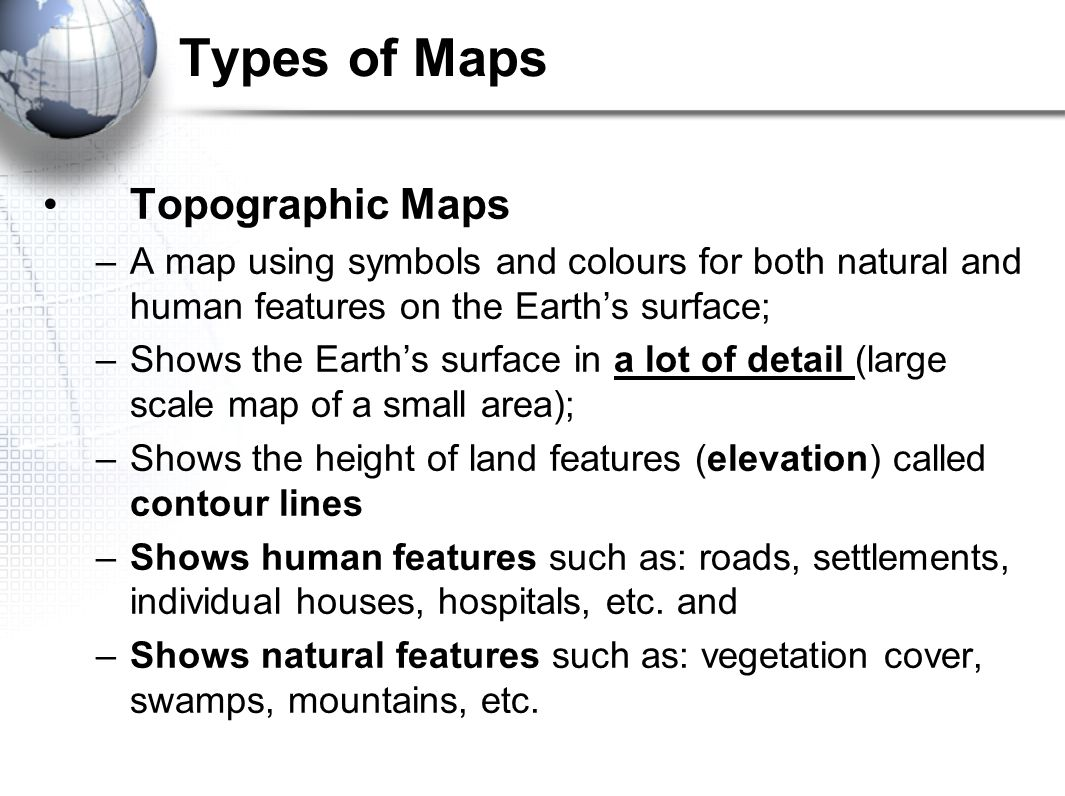 Introduction to mapping what is a map a map is a representation types of maps topographic maps a map using symbols and colours for both natural and buycottarizona Image collections