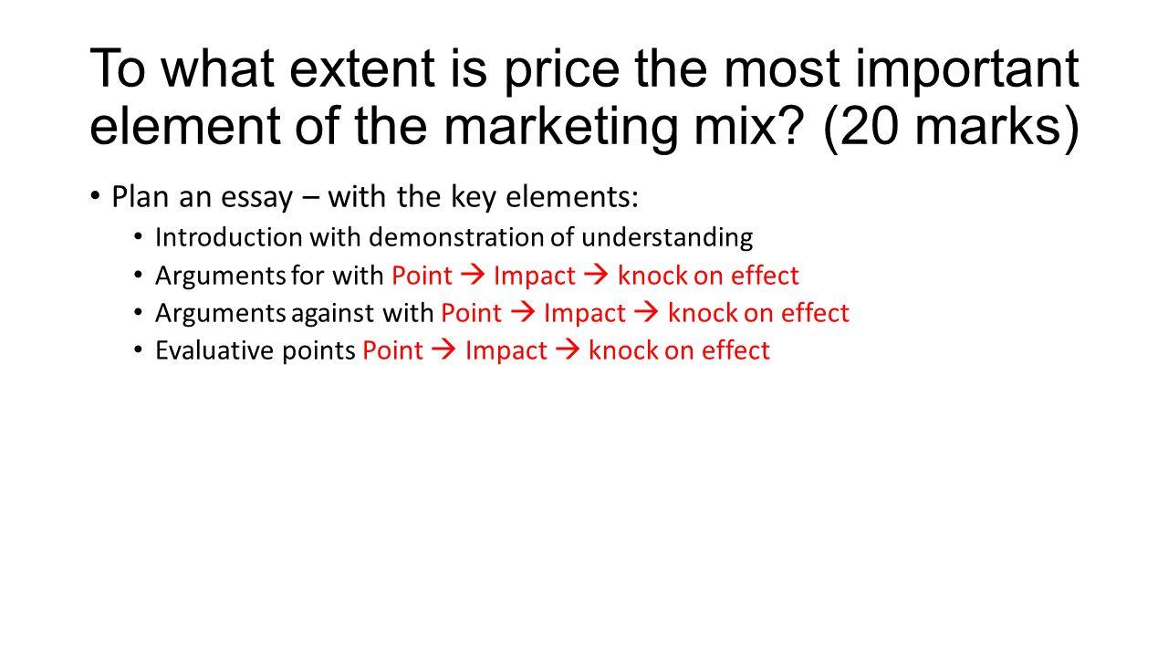 marketing mix 13 essay