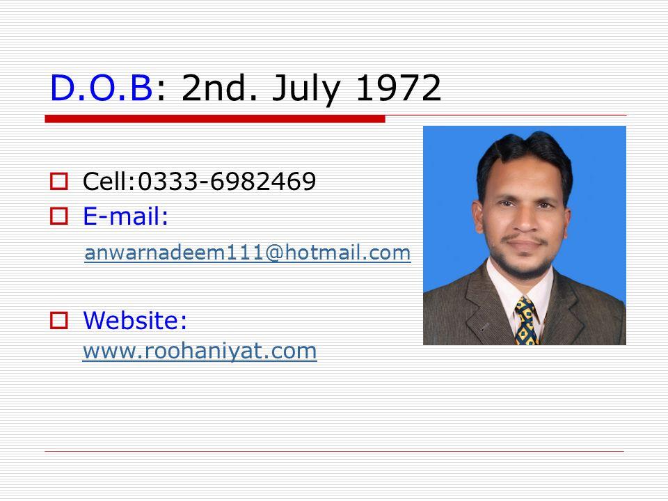966 curriculum vitae mohammed hotmail com