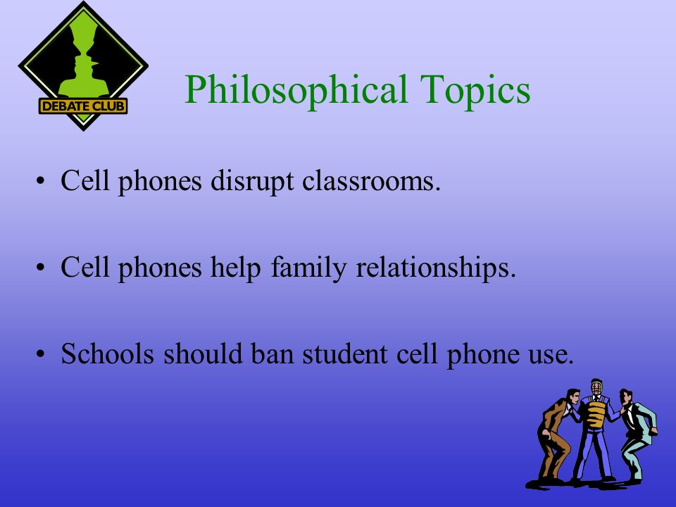 Argumentative Essay Cell Phones