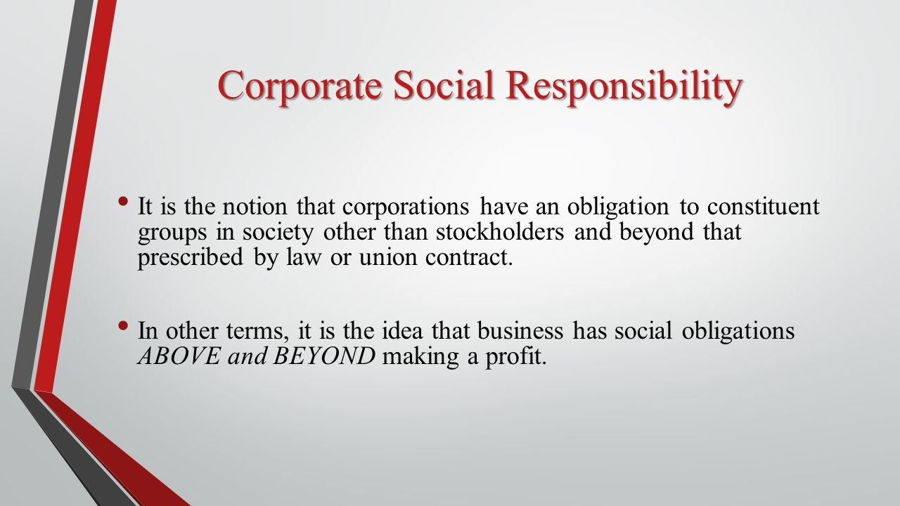 corporate social responsibility essays Custom paper writing service keep in mind that these essays are for inspiration only and we don't recommend bussines and corporate social responsibility.