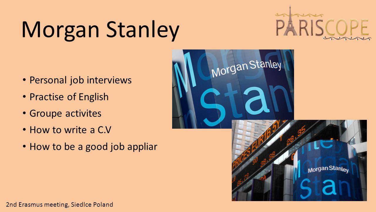 Interviews And Job Applications 2nd Erasmus Meeting Siedlce