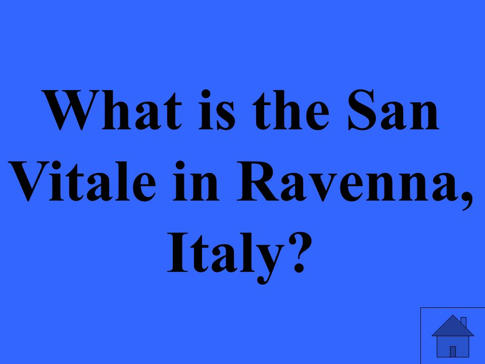 What is the San Vitale in Ravenna, Italy