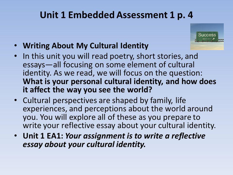 Identity Essay Examples