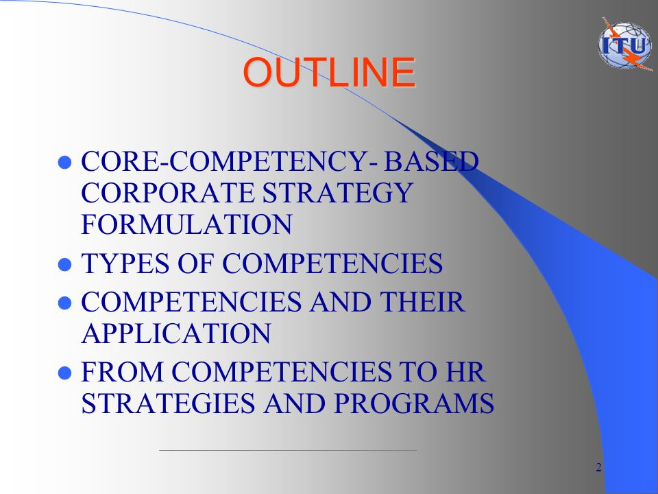 the types of competencies in writing Following list of competencies, skills or talents is presented in three categories: personal talent skills therefore, different types of solutions.
