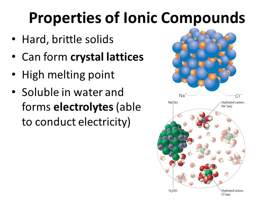 Ionic Compounds. An ion is an atom or group of atoms that has ...