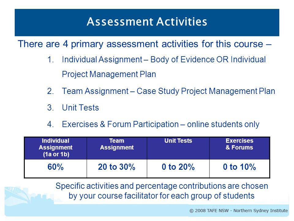 tafe assessment