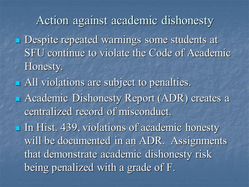 Academic Integrity Essay