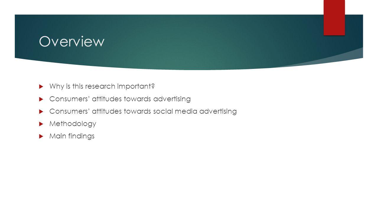 attitude towards an advertisement