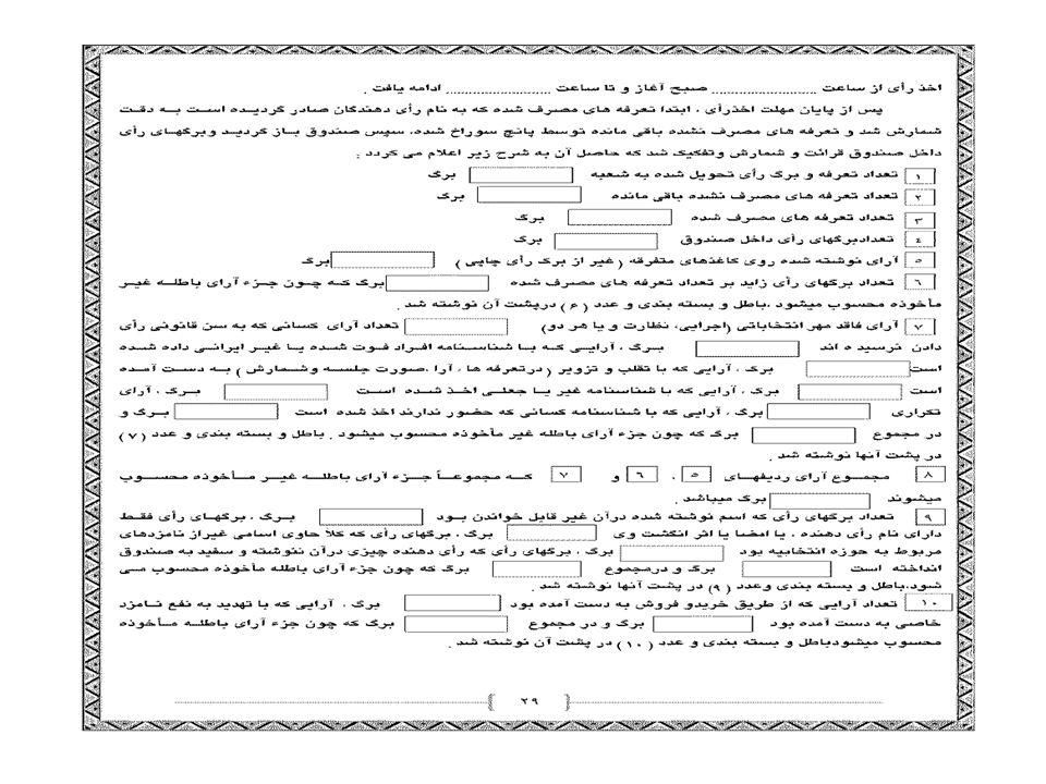 دبيرخانه ستاد انتخابات استان يزد