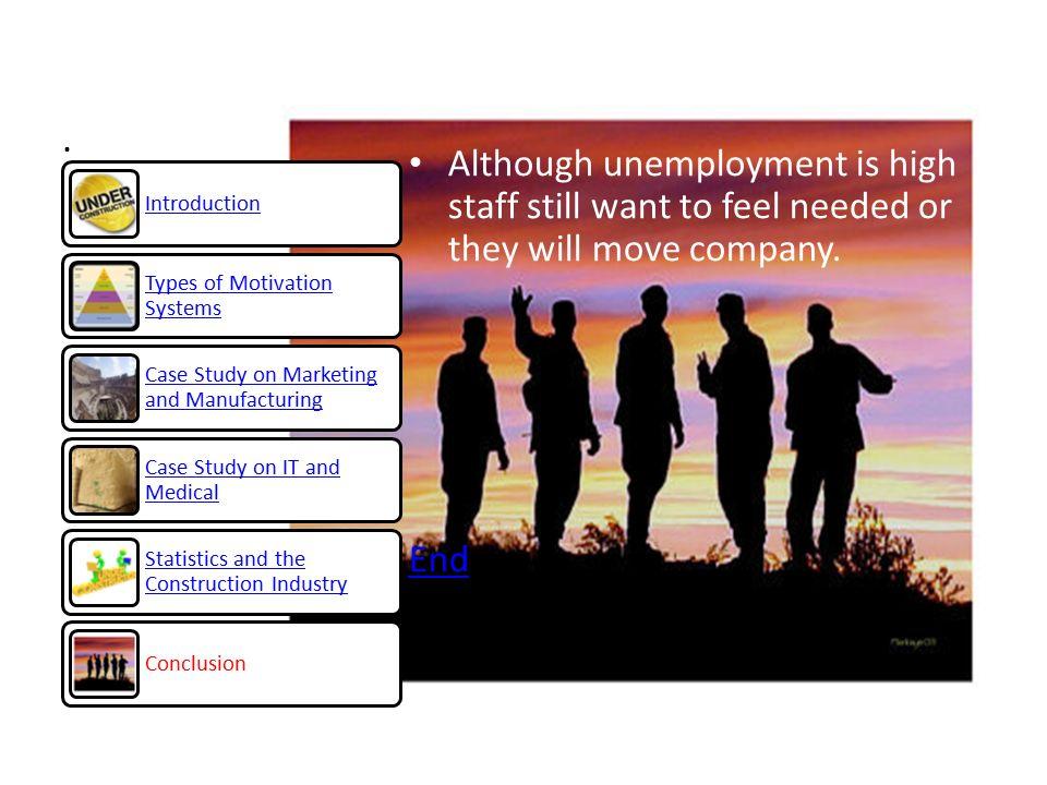 Case study in unemployment