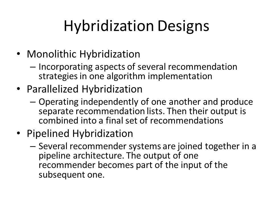 Hybrid Recommendation Danielle Lee April 20, ppt download