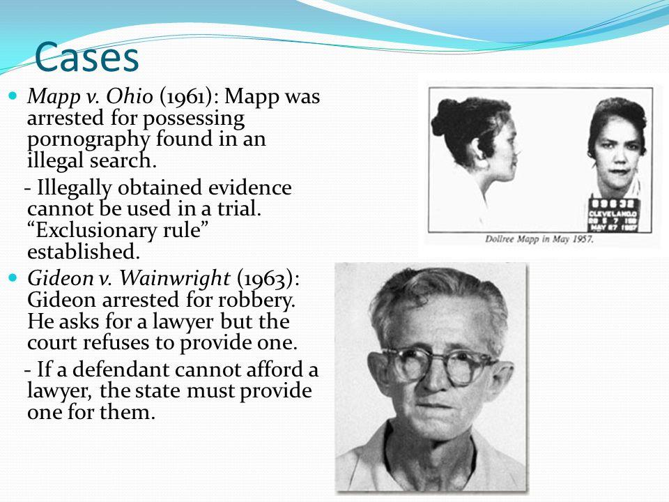 mapp vs ohio court case