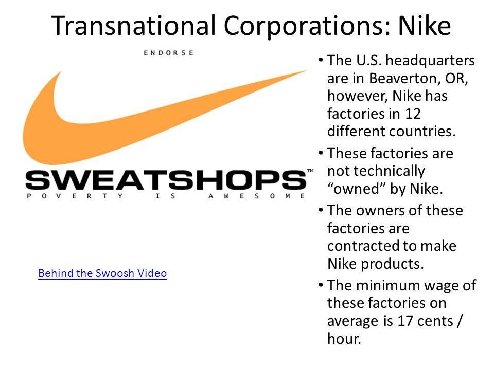 transnational corporations essay