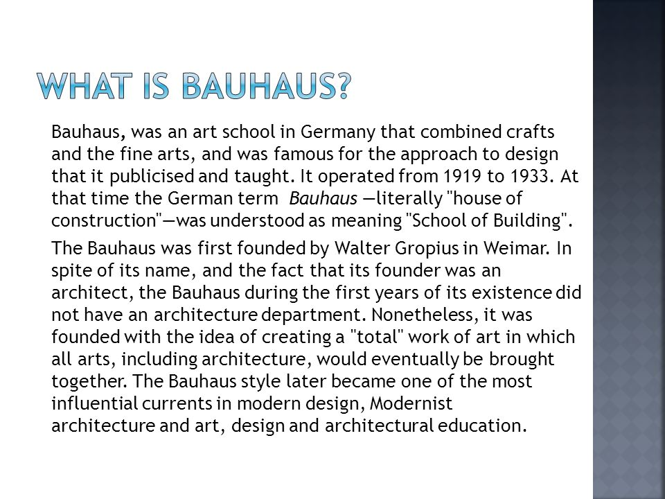 how the bauhaus school in germany shaped todays modern tastes and art education 10 things you need to know about germany's bauhaus with how people lived in the modern the 100th anniversary of the bauhaus art school's.
