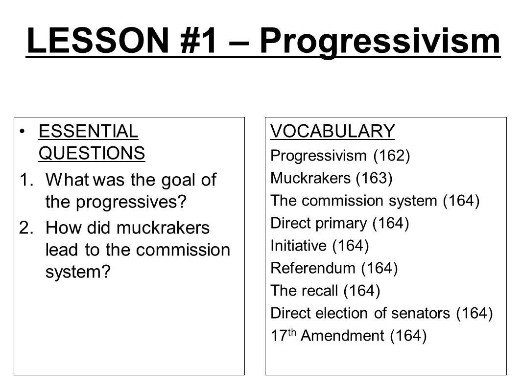 worksheet Progressive Era Worksheet unit 5 progressive movement lesson 1 roots of progressivism 16 lesson