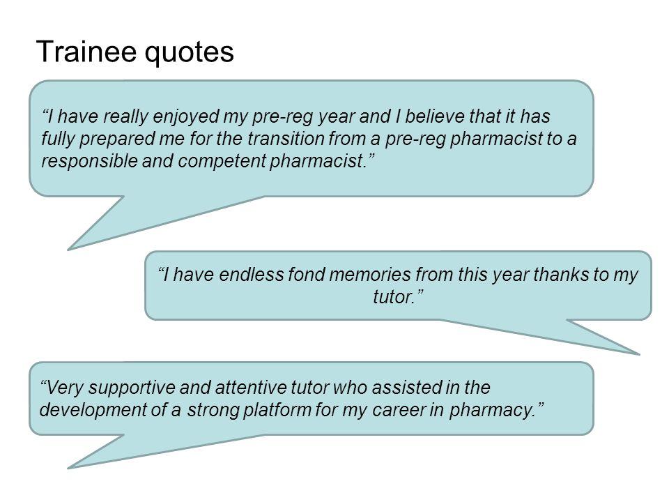 3 trainee - Pharmacist Trainee