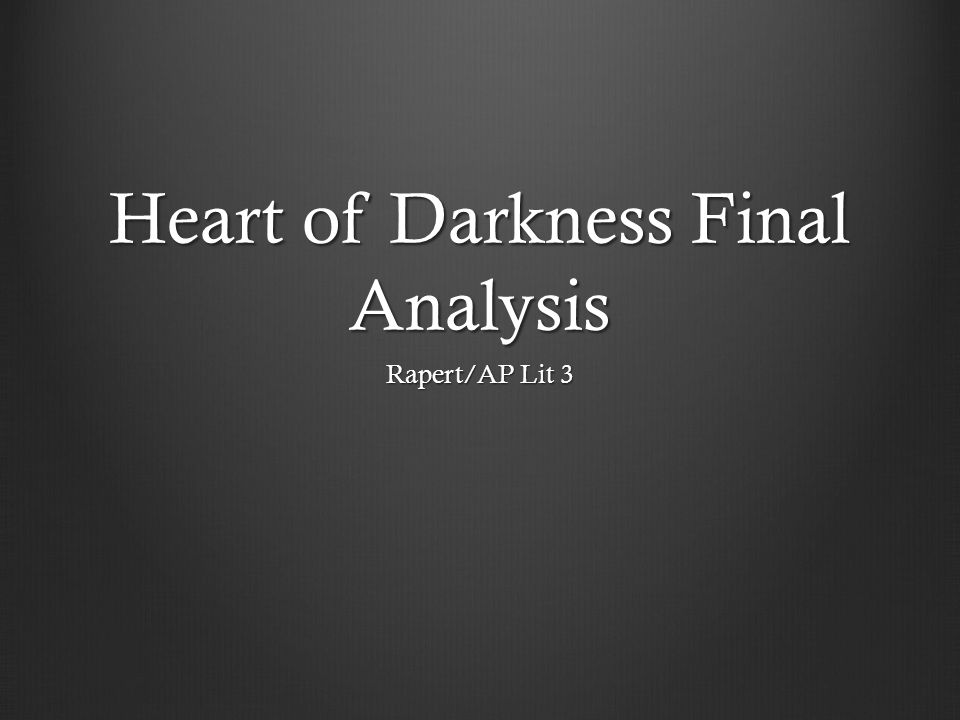 heart of darkness ap essay prompt Ap english literature and composition exam 5 heart of darkness activities 275 essay: the college board and the advanced placement program encourage teachers.