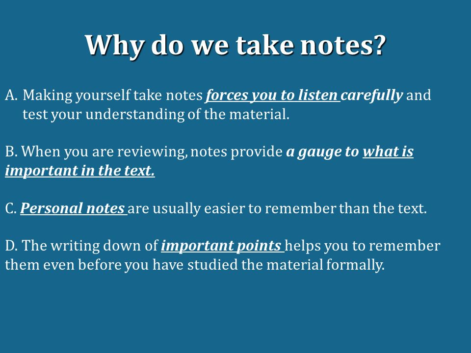 Writing on Theme English    Do Now Take a worksheet from the front     Take notes in every class  Note taking is a lot of work  but in the long  run  it pays off  Writing stuff down in and of itself helps you remember it  better