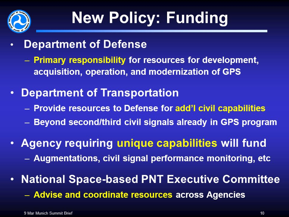 How GPS Won Funding by the Department of Defense