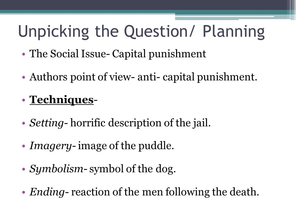 a report on the issues with capital punishment