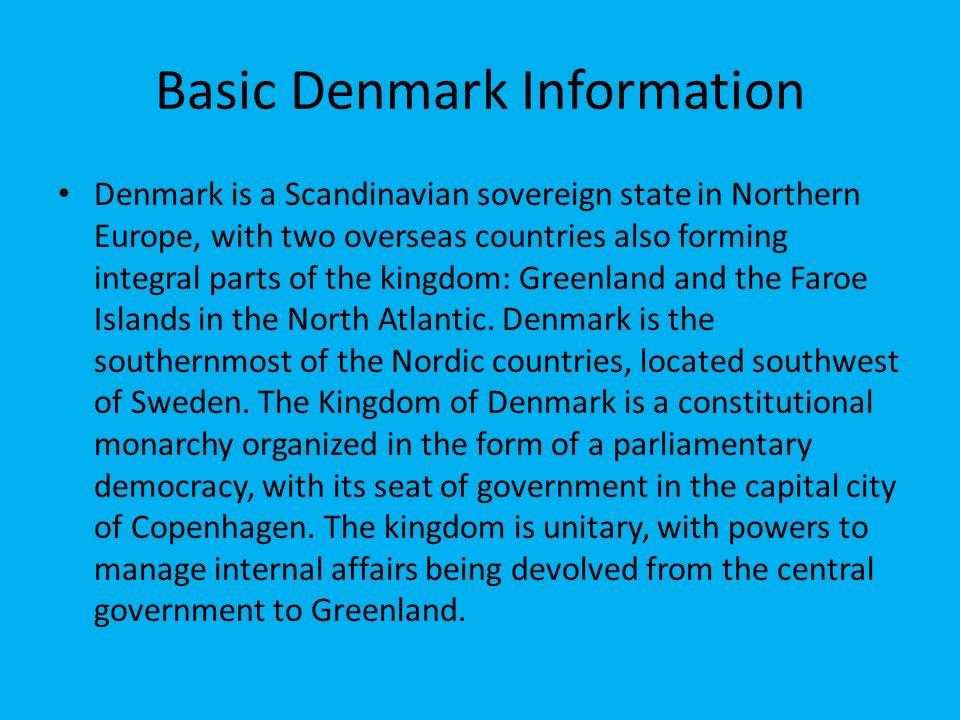 Denmark By: Tara Gambrel. Basic Denmark Information Denmark is a ...