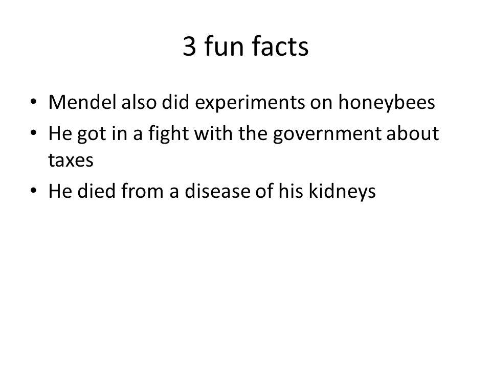 gregor mendel facts