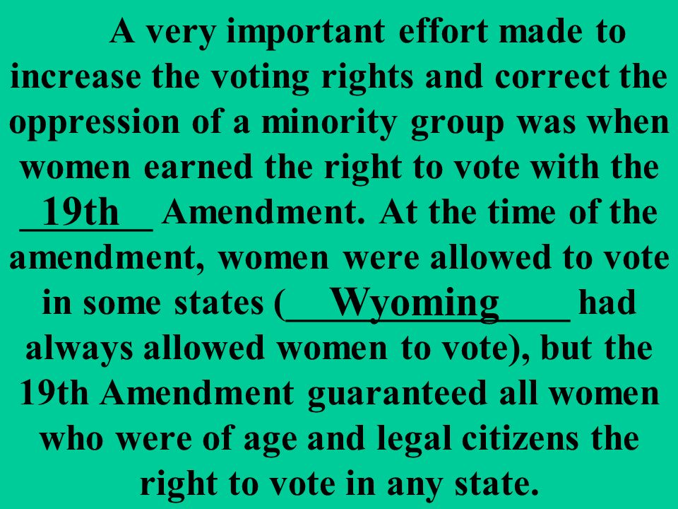 essay review women s suffrage a very important effort made to a very important effort made to increase the voting rights and correct the oppression of a