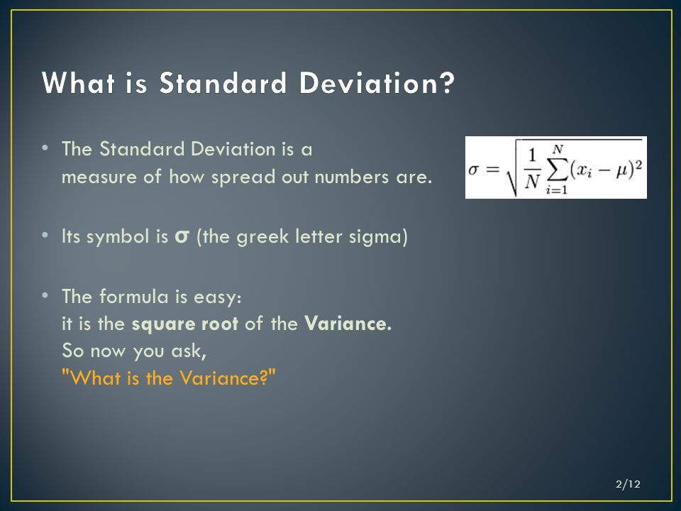 Greek Letter For Standard Deviation Denmarpulsar