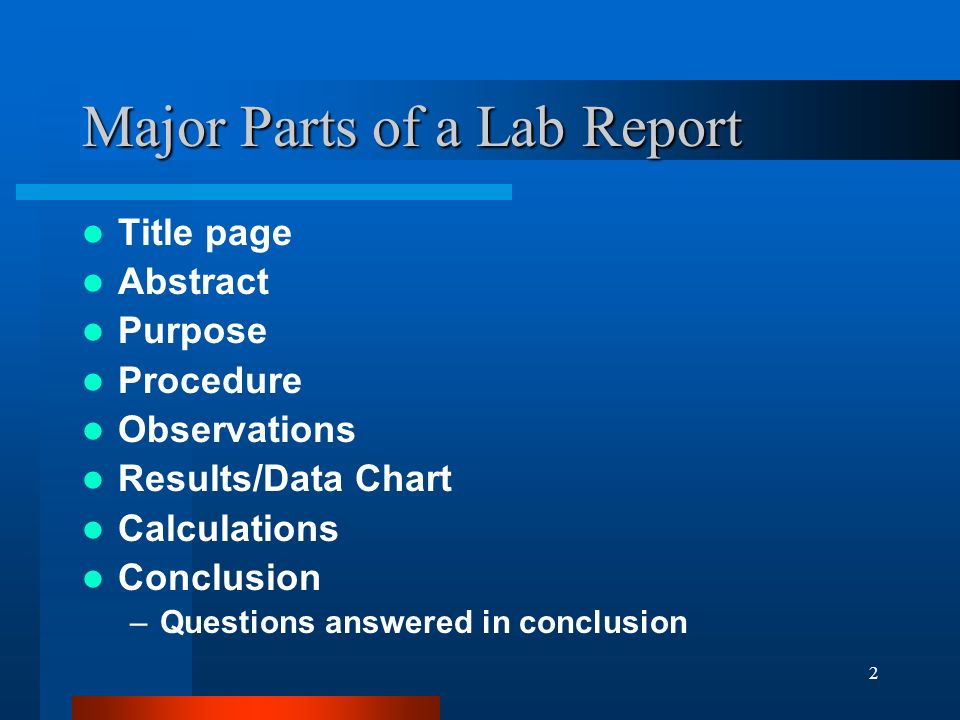 Science Lab Report Conclusion Example     Android app apk videos SlidePlayer
