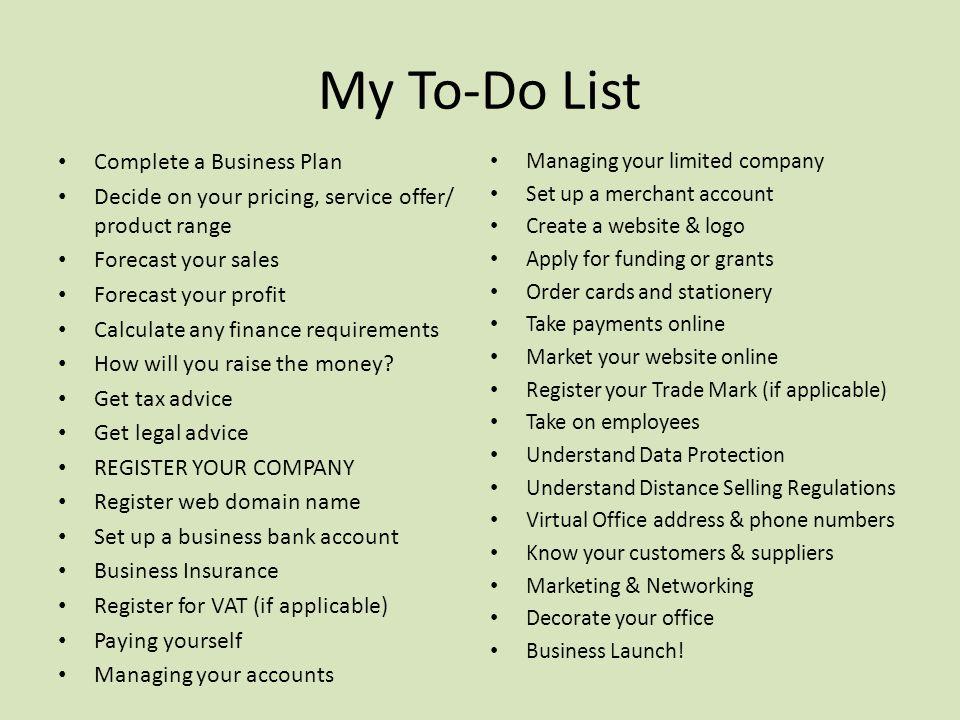Concierge business plan