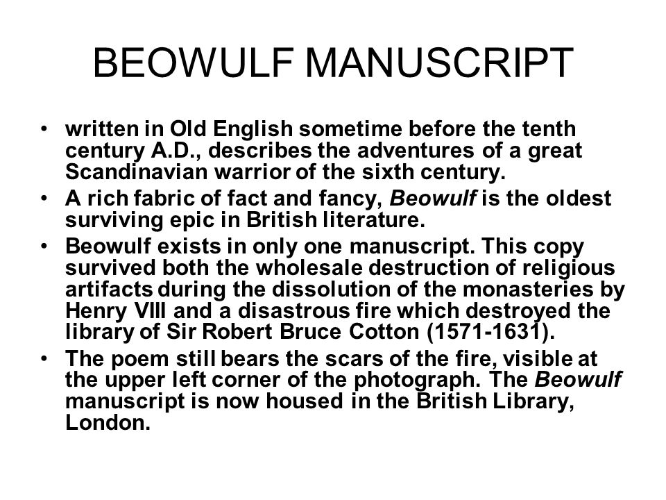 beowulf the odyssey and other related epics essay A detailed discussion of the writing styles running throughout beowulf beowulf including including point of view, structure, setting, language, and meaning.