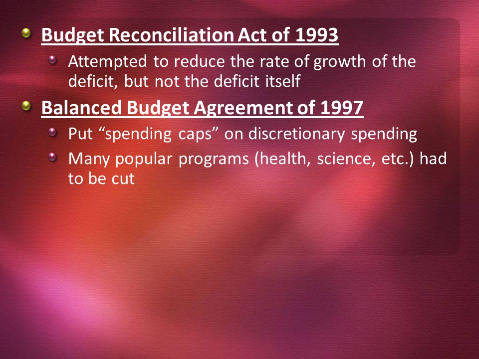 Chapter 10 sections 23 4 by colette spencer federal 18 budget reconciliation platinumwayz