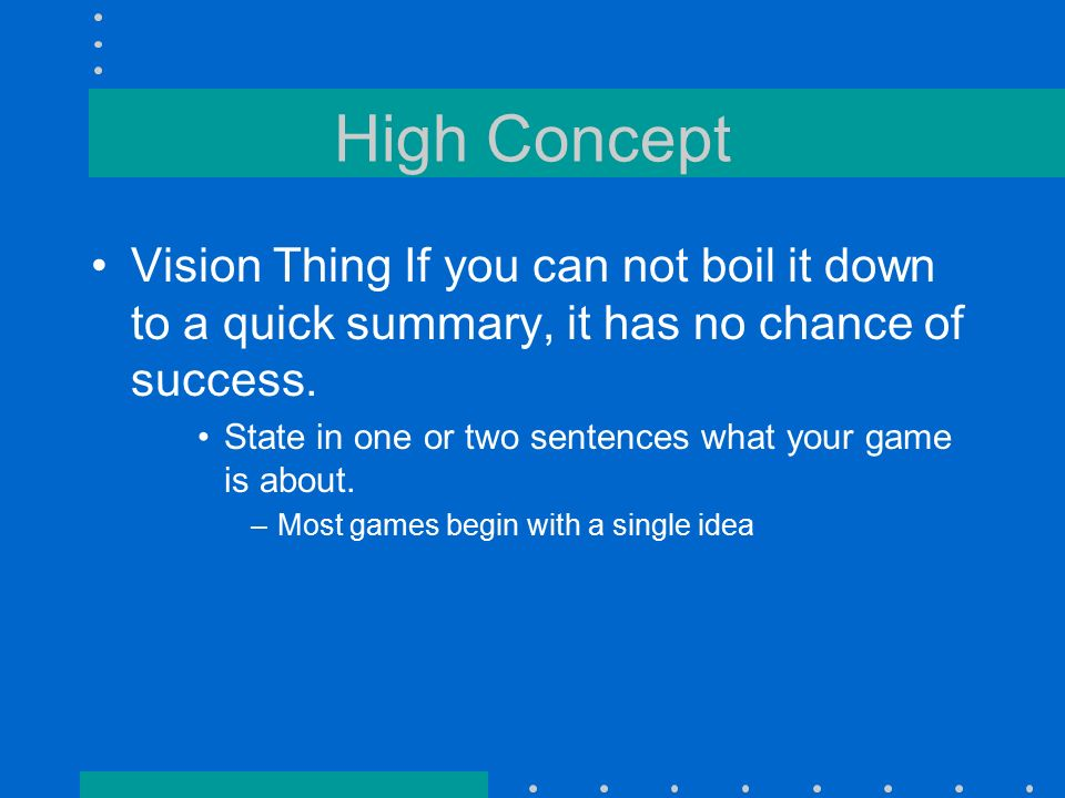 Game Proposal Design Document What Is Your Game About Project