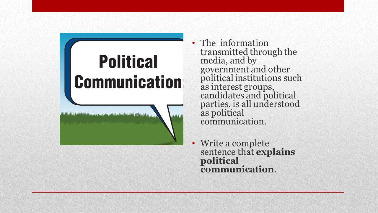 media and the government The media plays a common-carrier role by providing a line of communication between the government and the people this communication goes both ways: the people learn about what the government is doing, and the government learns from the media what the public is thinking journalists cannot report on.